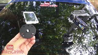 RAM Mount Review   Camera Phone Tablet Laptop Light Dash Mount Can Cup Holder