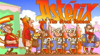 Mega Drive Longplay [402] Asterix and the Great Rescue
