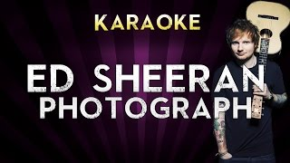 Video Ed Sheeran - Photograph | HIGHER Key Karaoke Instrumental Lyrics Cover Sing Along download MP3, 3GP, MP4, WEBM, AVI, FLV Januari 2018