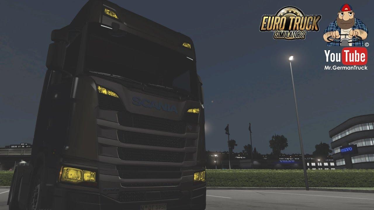 [ETS2 v1.37] Yellow Light Mod for Trucks v1.1