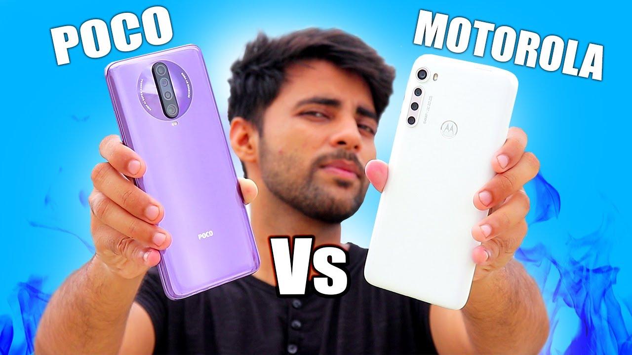 Motorola One Fusion Plus Vs Poco X2 - Full Comparison !!  😲
