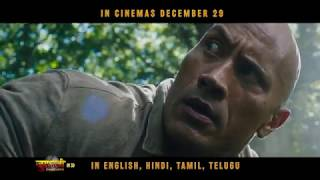 Jumanji: Welcome To The Jungle | Official Hindi Trailer | In Cinemas Dec 29