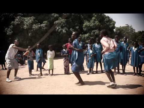 SOHM school visit (football gambia)