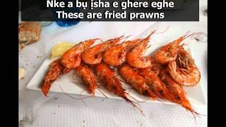 Learn Igbo Language  Today39s Igbo word is sha ShrimpPrawn