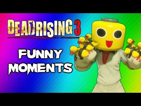 Thumbnail: Dead Rising 3 Funny Moments Gameplay 3 - Invisible Zombie Glitch, Duck Gloves, Party Slapper Fun