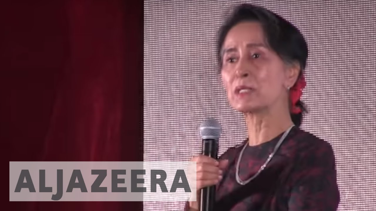 Myanmar people express support for military operation against Rohingya