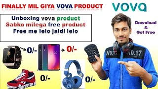 Free vova free product unboxing how to get free product from vova app bright effect