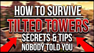 How To SURVIVE Tilted Towers! (Secrets, Chest Spawns, and Tips) Fortnite Location Guide | ep.2