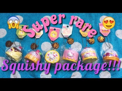 Super rare squishy package! - Minisquishypastels