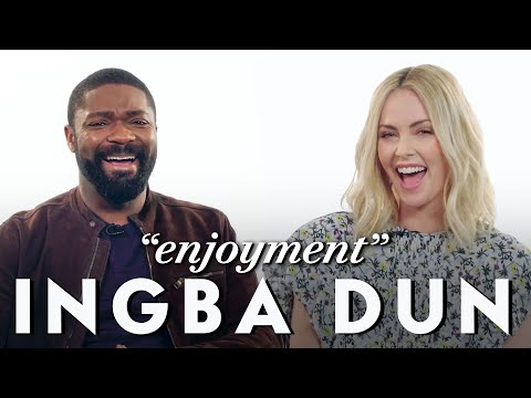 Charlize Theron and David Oyelowo Teach Afrikaans and Yoruba
