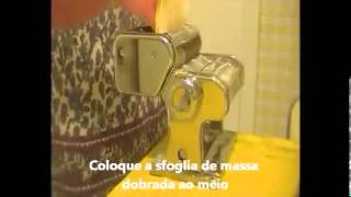 RAVIOLINI - Máquina de macarrão - Atlas 150 Marcato