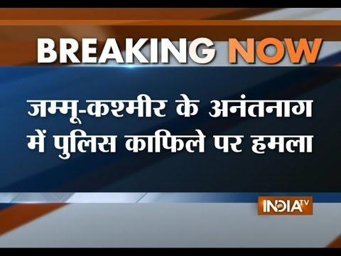 Jammu and Kashmir: Terrorists Attack Security Convoy at Anantnag