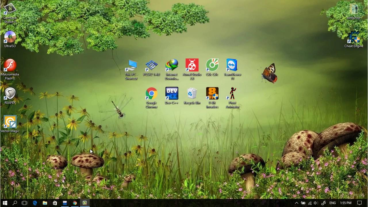 [Console C++ Game] Video 3: Demo game caro (cuối clip)+ Lệnh getch()!