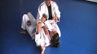 MASTER CARLOS ROLLYSON – (no gi) arm bar from the mount.MOD