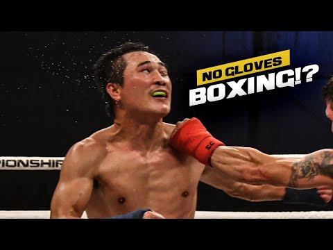5 Round Bare Knuckle Fight! Dat Nguyen Vs Travis Thompson