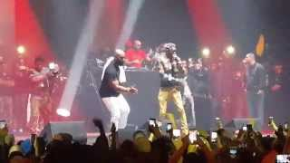 Young thug et Kaaris en direct du Zénith