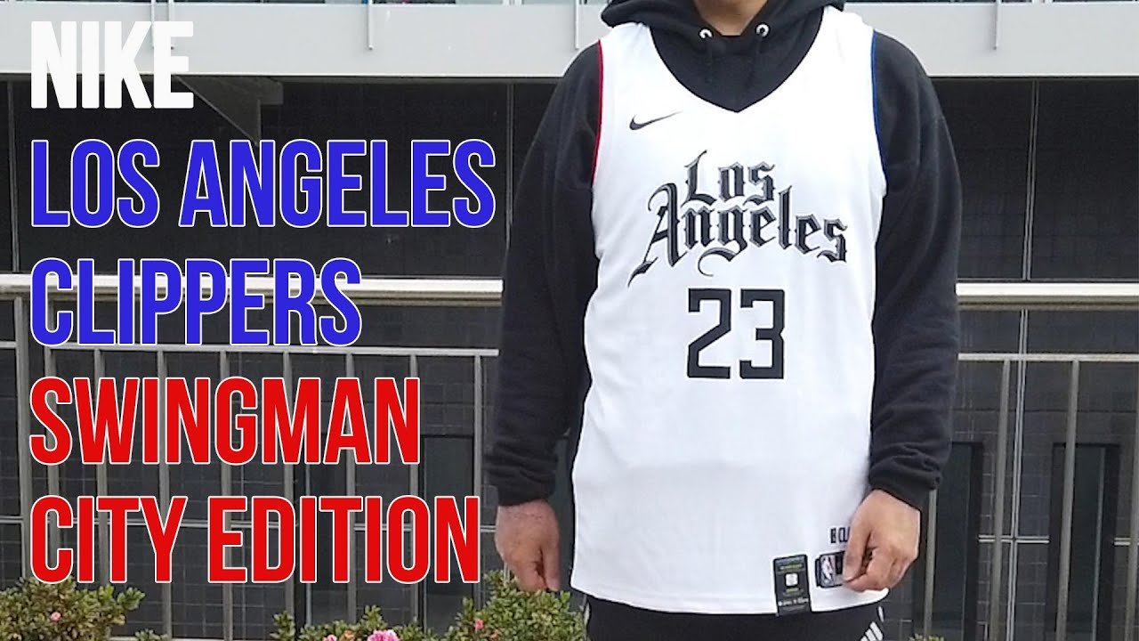 Nike Los Angeles Clippers City Edition Swingman Jersey Youtube