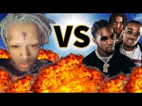 XxxTentacion VS Migos  Before They Were Famous