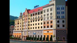 Radisson Rosa Khutor 5 Рэдиссон Роза Хутор Красная Поляна Россия обзор отеля территория