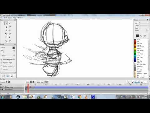 pencil animation