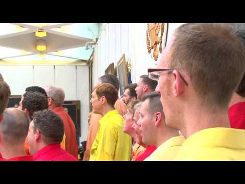 NY Gay Men's Chorus Perform at U.S. Embassy