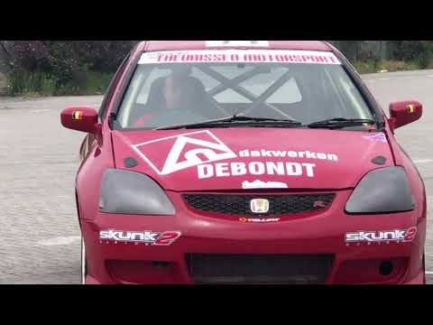 Pre afterseason test Honda Civic EP3 Type R Rallycross