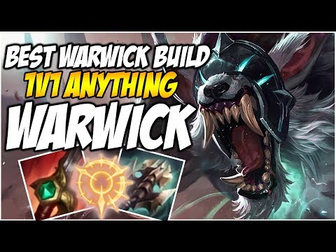 BEST WARWICK BUILD, 1V1 ANYTHING | League of Legends