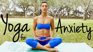 20 Minute Relaxing Yoga for Happiness | Melt Away Anxiety & Stress, Beginners at Home Yoga Flow