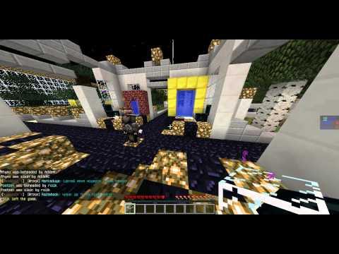 Minecraft  сервера с 127 лвл