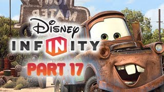 Disney Infinity Gameplay Walkthrough Part 17 - MATER Cars Play Set World