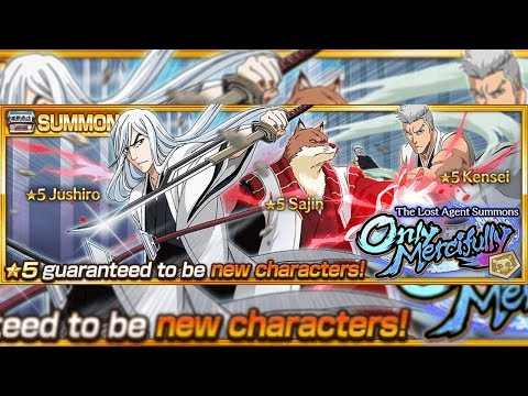 Bleach Brave Souls: Novo Summons Jushiro, Sajin e Kensei Gameplays!!! & Chad Frenzy!!! - Omega Play