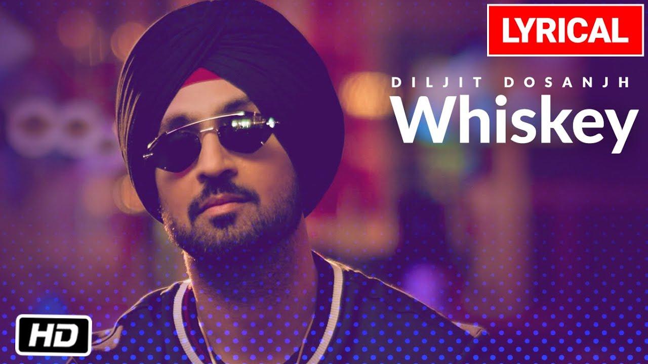 Diljit Dosanjh: Whiskey lyrical Video Song | G.O.A.T. | Latest Punjabi Song 2020