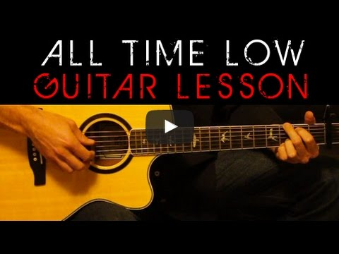 Jon Bellion All Time Low Easy Acoustic Guitar Tutorial Lesson