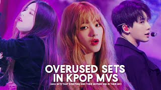 6 frequently used sets in kpop mv
