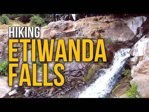 Hiking Etiwanda Falls - North Etiwanda Preserve - Rancho Cucamonga, Ca