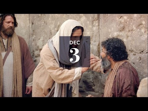 Dec 3: Jesus Helped Others to See and So Can You