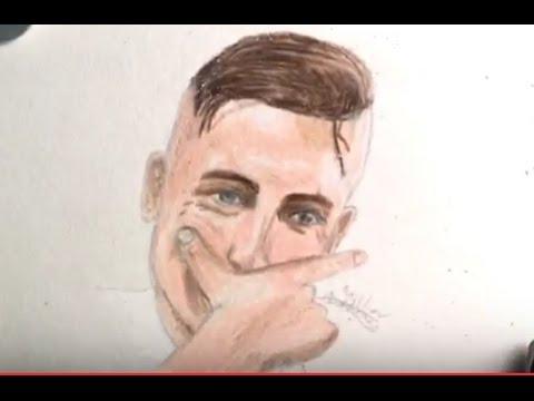 Drawing Dybala Juventus Mask