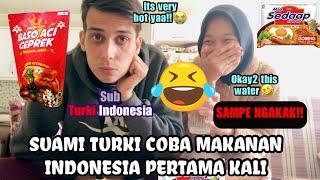 Download TÜRK EŞİ ENDONEZYA YEMEKLERİNİ DENERSE   Baso Aci Geprek   Indo - Turki   Gelin Indonesia