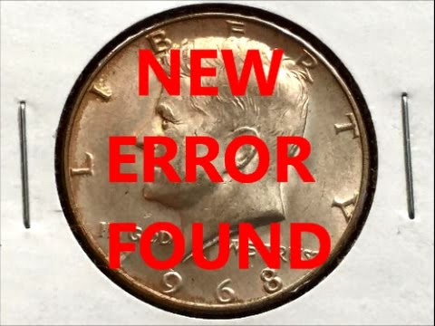 NEW ERROR FOUND ON 1968 KENNEDY HALF DOLLAR !!