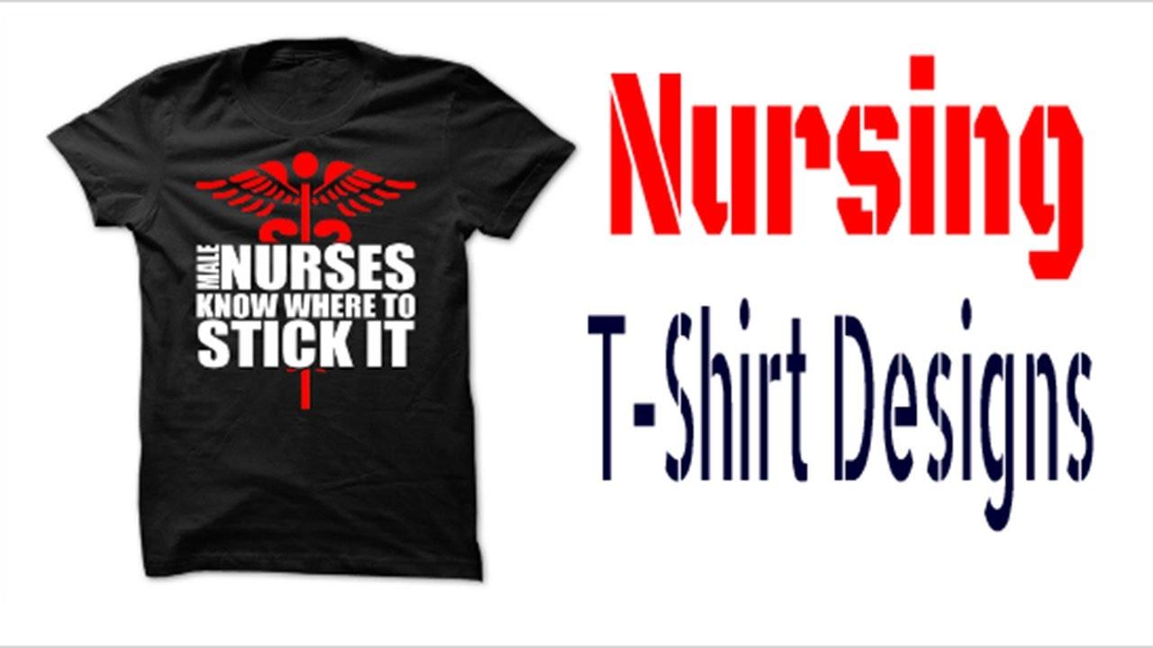 Nursing T Shirt Designs Sayings Cool Funny Cute Youtube,Professional Creative Graphic Designer Letterhead Design