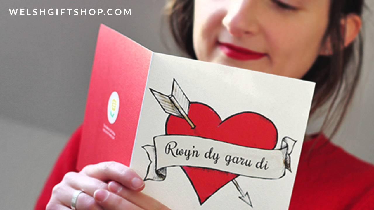 How To Say Rwyn Dy Garu Di I Love You In Welsh Youtube