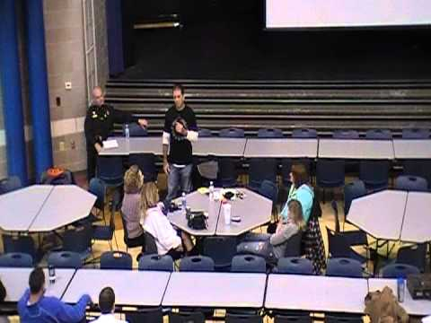 Educating Columbia (IL) faculty about Heroin & Drug issues in Monroe County