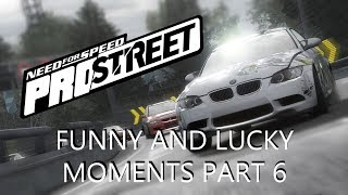 Funny And Lucky Moments - NFS ProStreet - Ep. 6