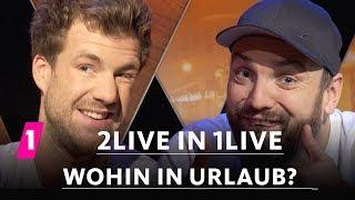 Baixar 2LIVE in 1LIVE - Wohin in Urlaub? | 14/1 | Luke Mockridge & Ingmar Stadelmann