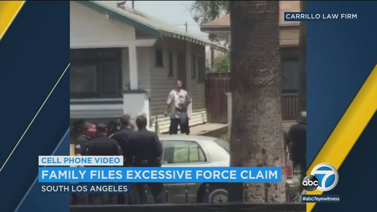 LAPD Investigating Potential Excessive Force During Arrest of ...