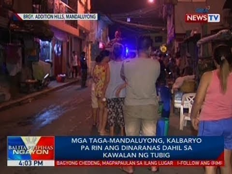 Mga taga-Mandaluyong, kalbaryo pa rin ang dinaranas dahil sa kawalan ng tubig