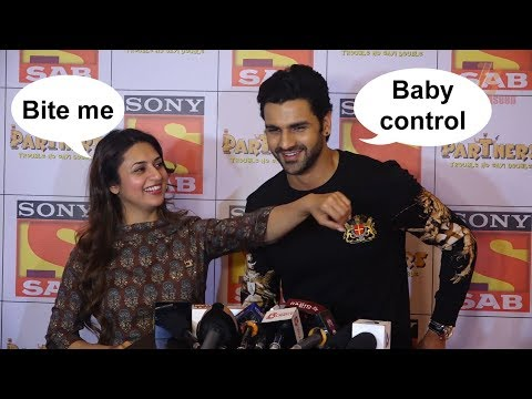 Divyanka Tripathi Gets NAUGHTY With Husband Vivek Dahiya In Middle Of An Interview