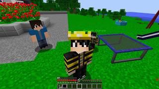 SEVGİLİMİN EVİNDE GİZLİCE 24 SAAT KALDIM! 😱 - Minecraft