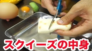 【実験】のびーるお餅のスクイーズ切ったら中身どうなってるのか? thumbnail