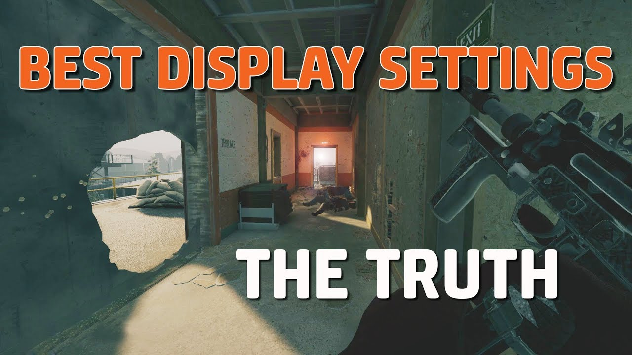 The Truth About Display Settings | Rainbow Six Siege